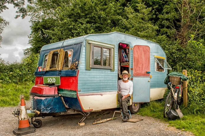 staycation with a caravan