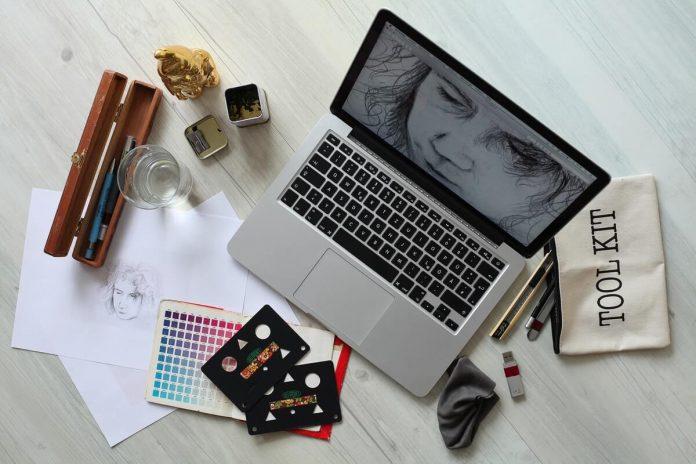 graphic designing program